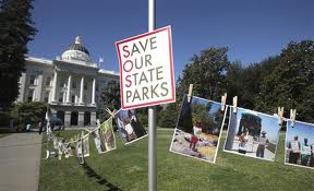 election save park sign