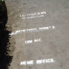 Thumbnail image for NutriSoda Tags OB Sidewalks – Corporate Guerilla Marketing Hits Our Beach