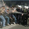 Thumbnail image for Saturday's News From Iran … continuous update : Iranian police use tear gas and water cannon to disperse demonstrators … but they fight back
