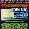 Thumbnail image for 'One Nation' Mobilizes October 2nd for Jobs, Justice, and Education