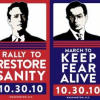 Thumbnail image for With President Obama on his show and rally set for Saturday, Jon Stewart takes center stage.