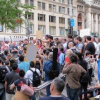 """Thumbnail image for Protest and Occupation in 12th Day at """"Occupy Wall Street"""" – Mainstream Media Finally Wakes Up, Blacklash Against Weekend Police Violence and """"Occupy"""" Actions Spread Across America"""