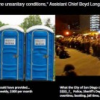 Thumbnail image for The choices for Mayor Sanders: Portapotties or Storming Troopers