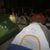 Thumbnail image for Tents and tension return to Civic Center Plaza at Occupy San Diego