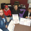 "Thumbnail image for Congresswoman Susan Davis' Office gets ""Occupied"" by Activists Protesting Defense Bill"