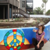 "Thumbnail image for Meet the Artist Behind the Sunset Cliffs Mural at the ""Hippie House"""
