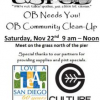 "Thumbnail image for ""OB Needs You!"" Community Clean-Up Sat. Nov. 22nd"