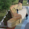 Thumbnail image for Ocean Beach CDC Unveils 3D Models of New Veterans Plaza