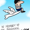 "Thumbnail image for Junco Draws: ""In Memory of the Bossman"""