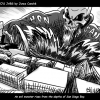 Thumbnail image for Junco's Jabs: An Evil Monster Rises from the Depths of San Diego Bay