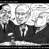 Thumbnail image for Gov. Brown with his water hogging buddies – Mr. Big Oil and Mr. Agro Business.