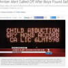 Thumbnail image for Abuse of Amber Alert in San Diego?