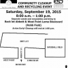 Thumbnail image for Community Cleanup and Recycling Event in OB – Sat., Sept 19th