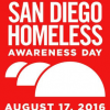 Thumbnail image for August 17, 2016: San Diego Homeless Awareness Day