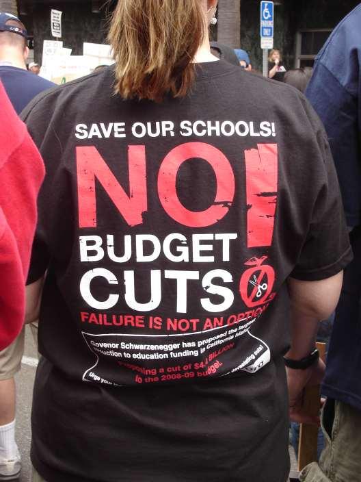 No Budget Cuts!