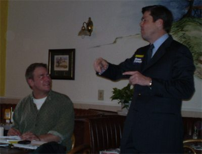 Aaron Klein, Steve Francis