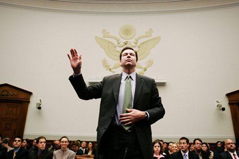 James Comey testifies before the Senate Judiciary Committee