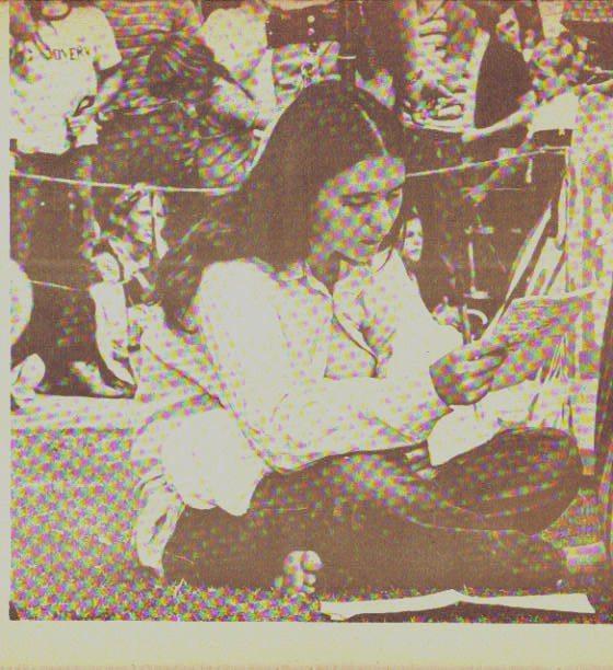 "Kathleen ""Lucha"" Doyle with son Erin - 1972"