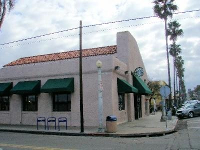 Starbucks in OB, corner of Newport Ave. & Bacon St.