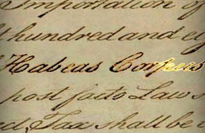 essays on habeas corpus