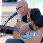 """""""Buky"""" plays some blues"""