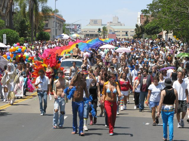 Saturday, July 18 marked the 35th Annual San Diego Gay Pride Parade and ...