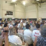 Spring Valley Town Hall crowd