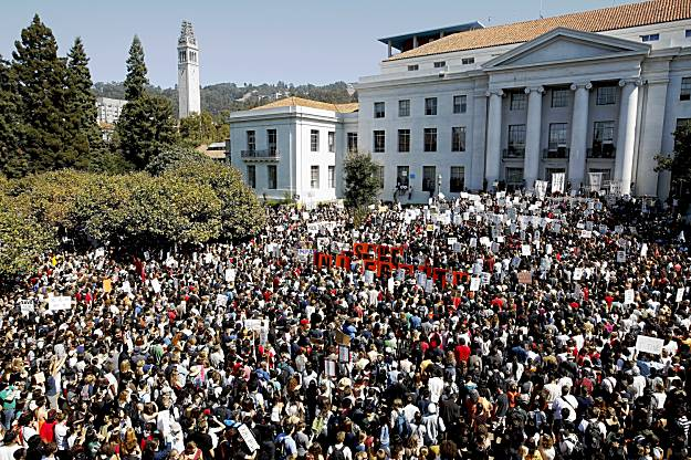 Berkeley rally v cuts