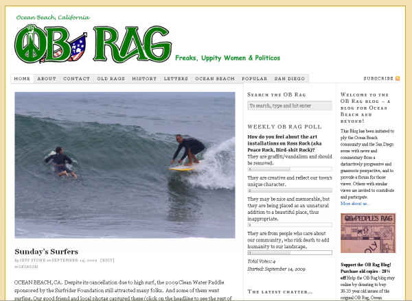 OB Rag 9-14-09