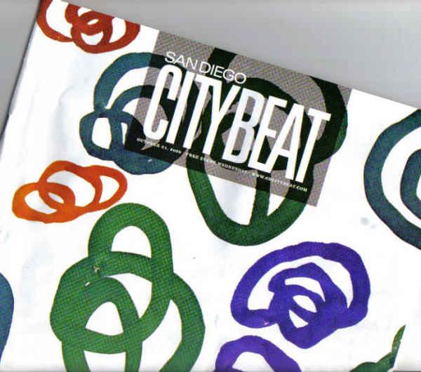 City Beat dedicate cover