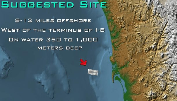 airport offshore map