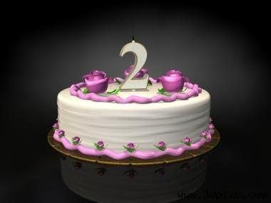 Birthday cake candle 2