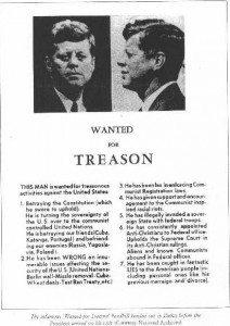 JFK treason poster