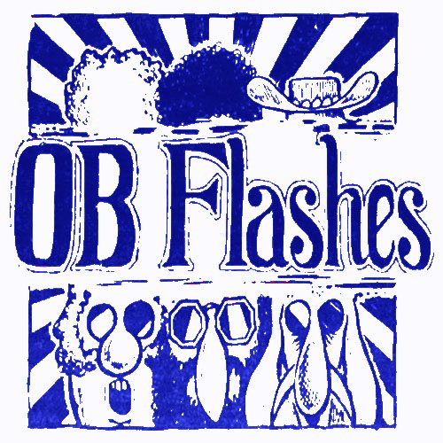 OB Flashes blue