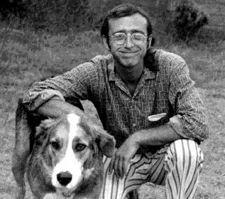 OB in the 1970s - Dickie Magidoff and his beloved Layla.
