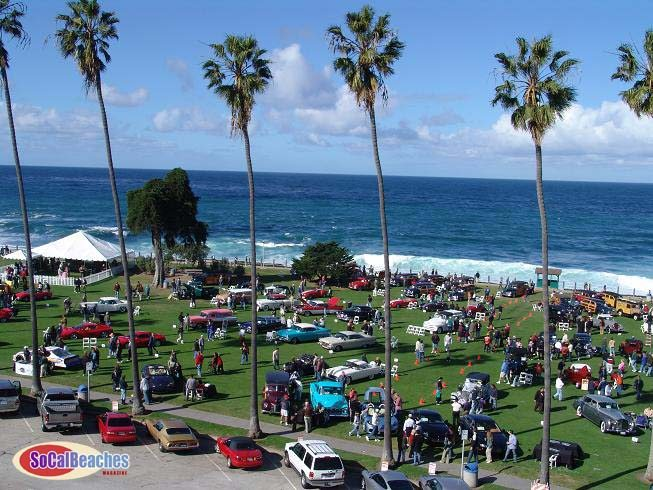 La Jolla beach park