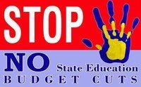 schools stop cuts logo