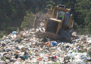 plastic bagslandfill