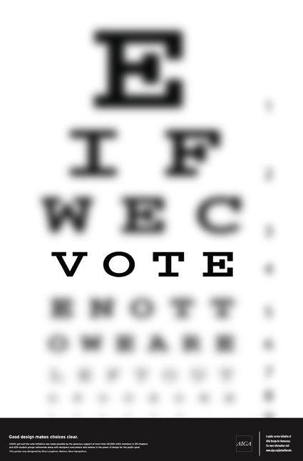 vote eye-chart