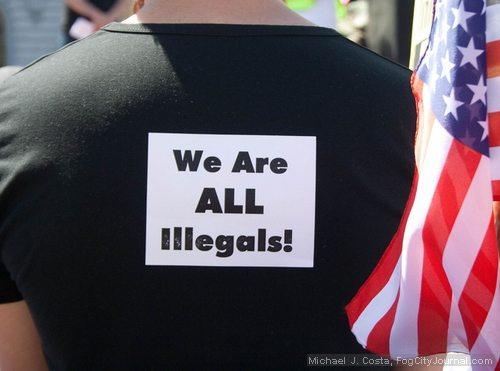 arizona law protest shirt