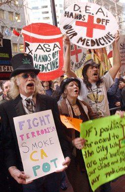 Pot Protest
