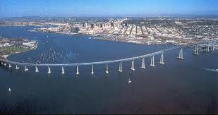 San Diego w Coron bridge