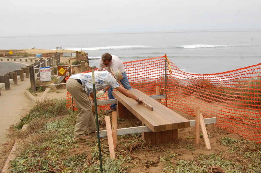 cliff benches jg 01-sm