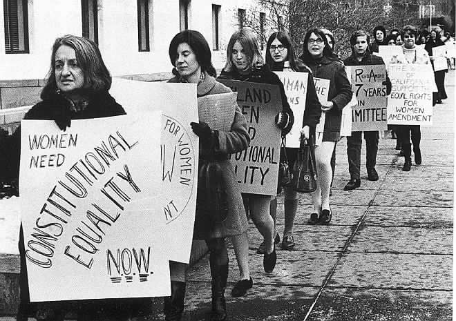 Feminist leader Betty Friedan