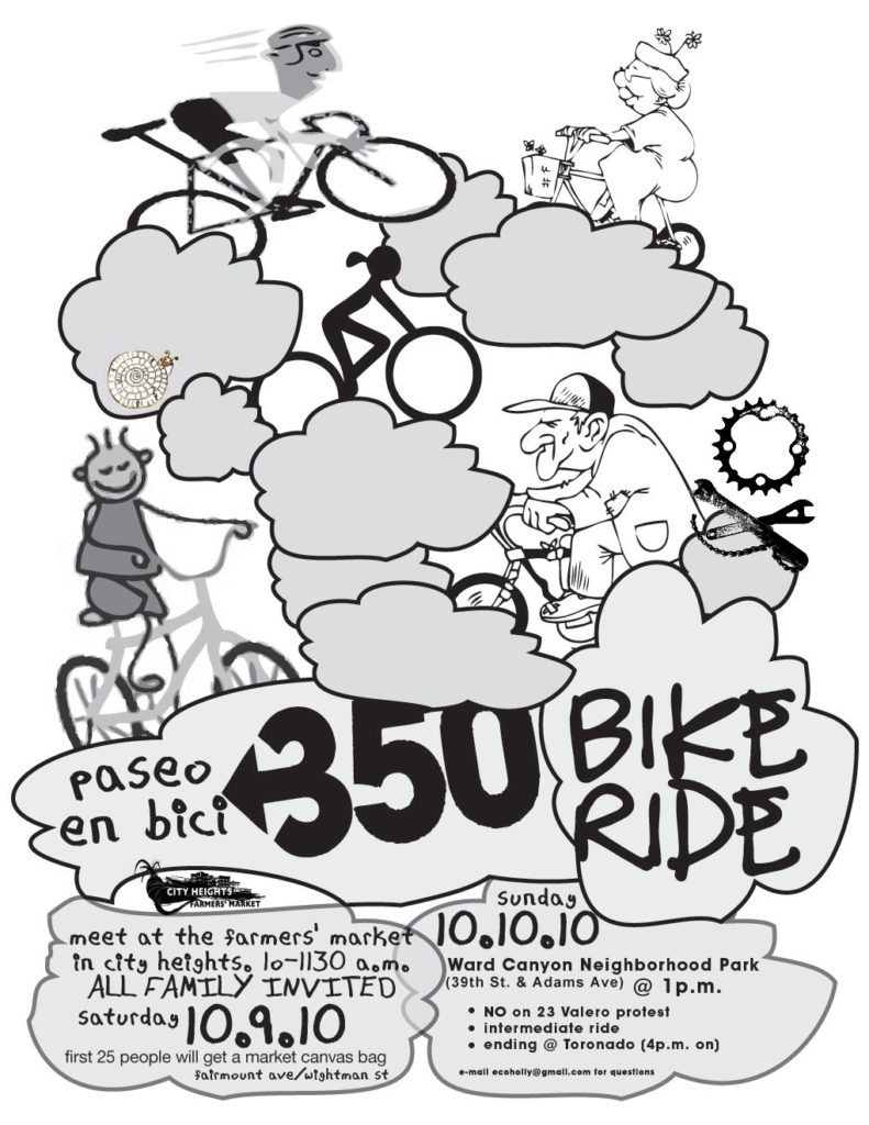 350 Bike Ride