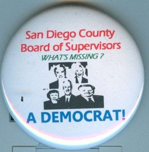 County Bd Supes missing dem
