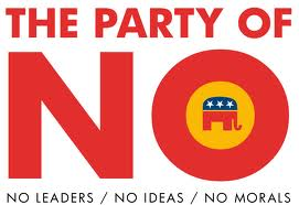 GOP party of No