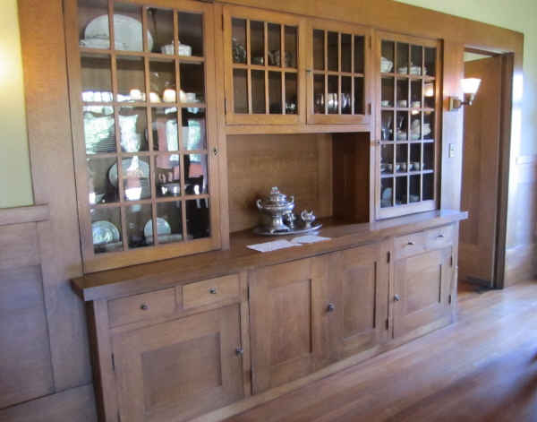 marston house builit in china hutch. Black Bedroom Furniture Sets. Home Design Ideas