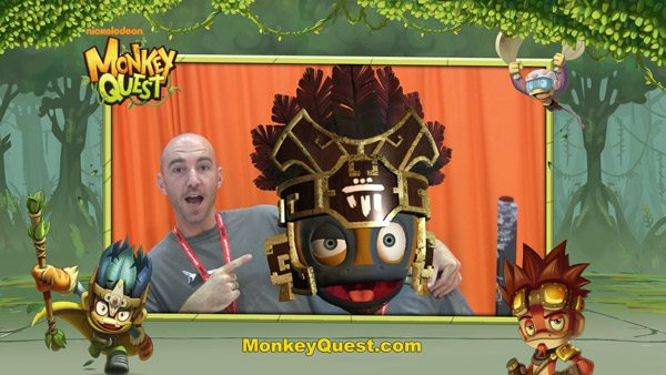 ComicCon Nickelodeon MonkeyQuest