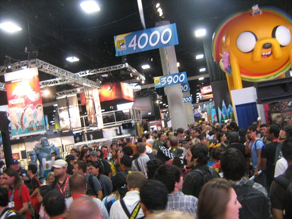 ComicCon 2011 convention floor